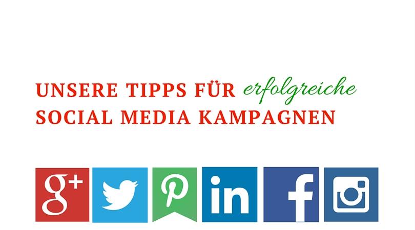Erfolgreiche Social Media Kampagnen