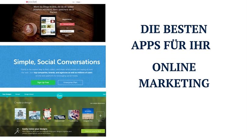 die besten Apps für Ihr Online Marketing