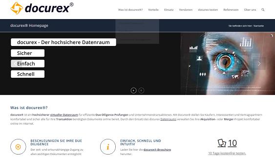 docurex Startseite
