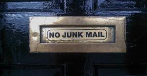Briefkasten: no junk mail