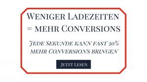 Mehr Conversions