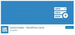 Klein aber fein: Cache-Enabler Plugin für WordPress