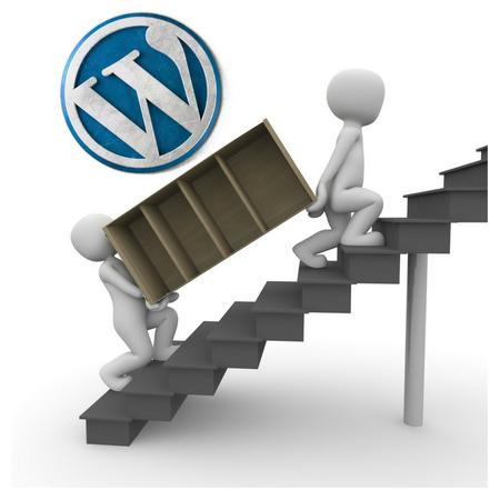 Wordpress-umziehen