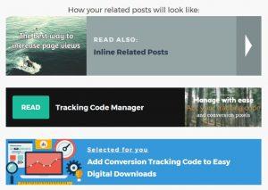 Die Optik der internen Links beim Related Posts Plugin können Sie anpassen