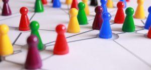 Networking Kundenakquise vereinfachte Darstellung