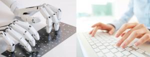 Texten mit Robotern