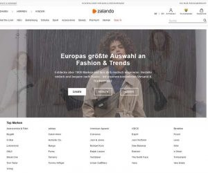 Einer der größten Webshops: Zalando