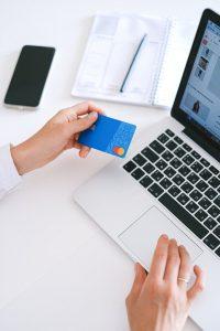 im Online Shop einkaufen